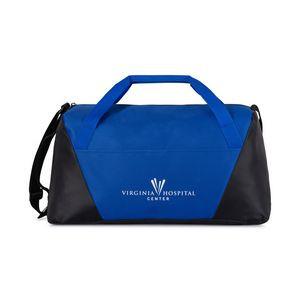 Geometric Sport Bag Blue