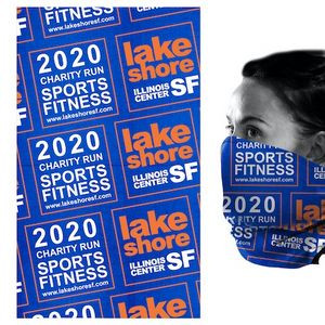 """The Fandana™"" Sublimated Multi-Functional Head & Neck Wear Bandana via Ocean"
