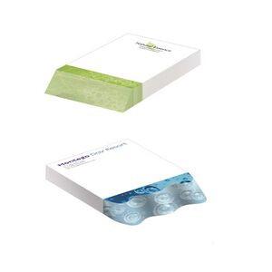 """BIC® Adhesive Beveled Notepad (4""""x6"""") - 150 Sheet Pad"""