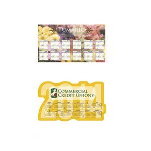 20 Mil BIC® Calendar & Schedule Magnet - Year & Large