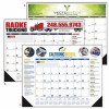 Good Value® Multi-Color Desk Pad Calendar
