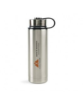 Andes Double Wall Stainless Bottle - 20 Oz. - Stainless Steel
