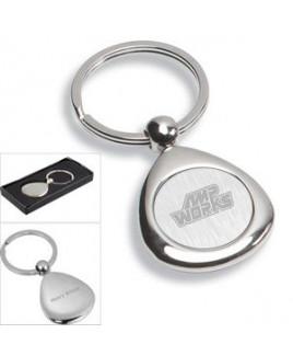 """""""Infini"""" Laser Engraved Metal Keyholder"""