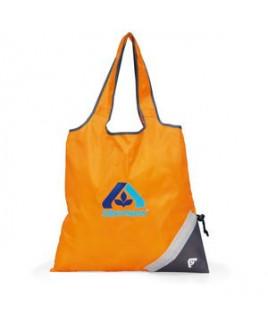 Latitudes Foldaway Shopper Orange