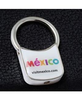 """""""Mike D"""" Metal Keyholder w/PhotoImage® Full Color Domed Imprint"""