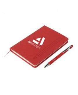 Magnetic Journal & Metal Pen Set