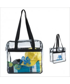 Good Value® Clear Zippered Tote