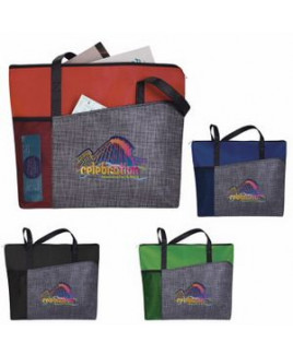 Good Value® Select Pattern Non-Woven Tote