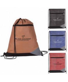 Good Value® Non-Woven Tread Drawstring Backpack