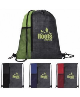 Good Value® Non-Woven Vertical Drawstring Backpack