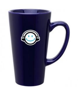16 Oz Tall Latte Mug - Cobalt Blue