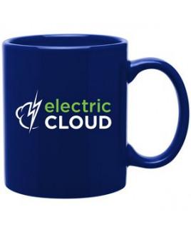 11oz C-Handle Mug (Royal Blue)