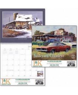 Triumph® Junkyard Classics by Dale Klee Calendar