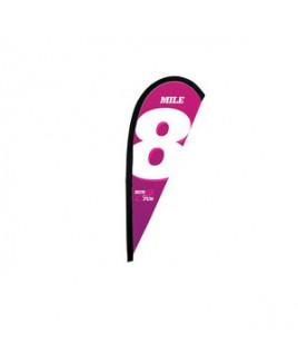 6' Premium Teardrop Sail Sign Flag, 1-Sided