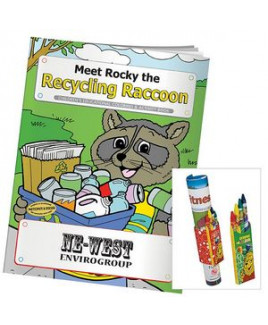 BIC Graphic: Coloring Book: Meet Rocky the Recycling Raccoon