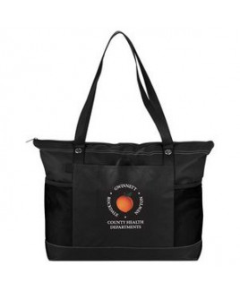Non-Woven Zippered Convention Tote