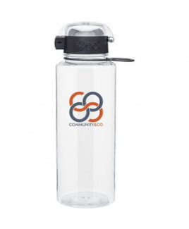 28 Oz H2go Pismo Bottle (Clear)