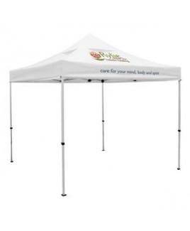 Premium 10' Tent, Vented Canopy (Imprinted, 2 Locations)