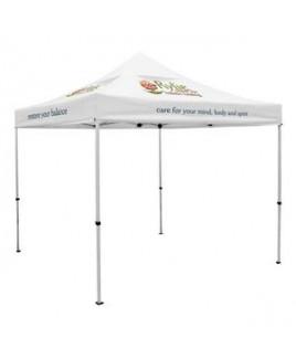 Premium 10' Tent, Vented Canopy (Imprinted, 6 Locations)