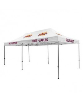 Premium Aluminum 20' Tent Kit (Imprinted, 10 Locations)