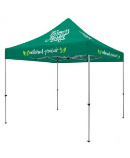 Deluxe 10' Tent Kit (Full-Color Imprint, 8 Locations)