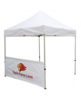 8' Tent Half Wall (Full-Color Imprint)