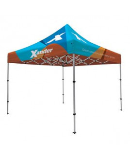 Compact 10' Tent Kit (Full-Bleed Dye Sublimation)