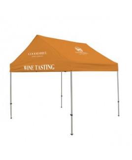 10' Premium Gable Tent Kit 3 Location Full-Color Imprint