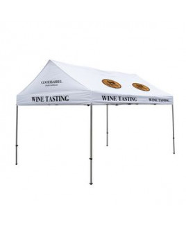 10' x 15' Premium Gable Tent Kit - 10 Location Imprint