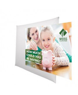 8' Traverse Fabric Display Replacement Banner