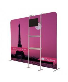 EuroFit Cascade Two-Shelf Merchandiser Kit