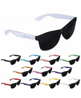 Good Value® Two-Tone Black Frame Sunglasses