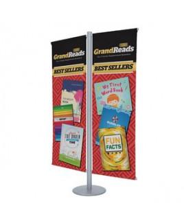 Flex Banner Display Double-Banner Kit