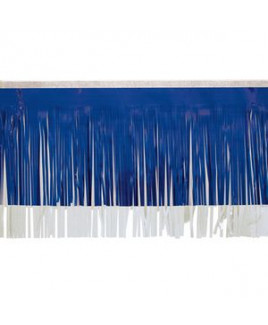 "Victory Corps Standard Dark Blue & White Fringe (15"")"