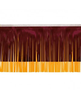 "Victory Corps Standard Maroon & Spanish Gold Fringe (15"")"