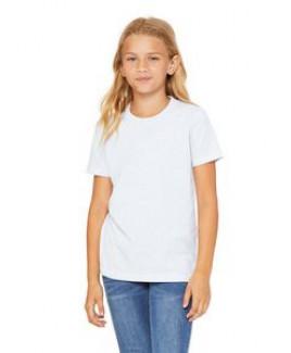 BELLA+CANVAS Youth Jersey Short Sleeve T-Shirt
