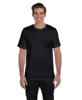 Canvas Men's Jersey Short-Sleeve Pocket T-Shirt