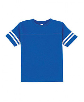 Rabbit Skins Toddler Football Fine Jersey T-Shirt