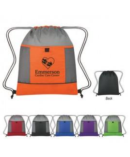 Honeycomb Ripstop Drawstring Bag
