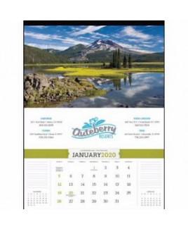 """Triumph® American Splendor Calendar w/o Date Blocks (17""""x23"""")"""