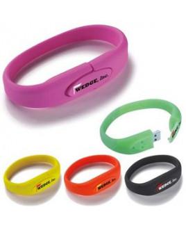 16 GB Universal Source™ Wrist Band 2.0 USB Flash Drive