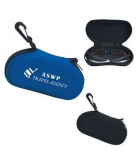Sunglass Case With Clip