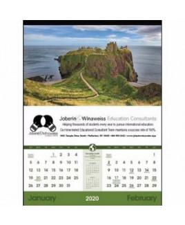 """Triumph® World Scenic Calendar (17""""x23"""")"""