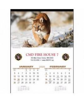 Triumph® Wildlife Executive Calendar