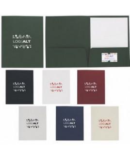Good Value® Linen Paper Folder