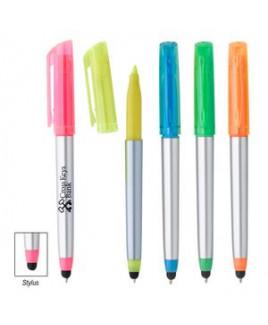 Trilogy Highlighter Stylus Pen