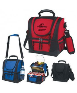 Dual Compartment Cooler Bag
