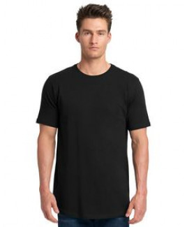 NEXT LEVEL APPAREL Men's Cotton Long Body Crew