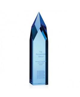 Jaffa® Ice Pillar Award - Blue
