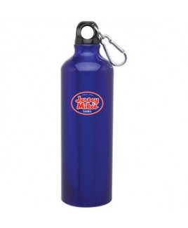 24oz H2go Aluminum Classic Bottle (Blue)